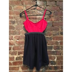 UO dress with cutouts
